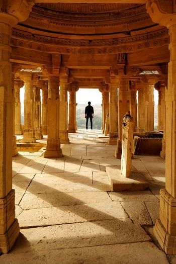 Architecture One Person Full Length One Man Only Travel Destinations Architectural Column Built Structure History Standing Ancient Civilization Minimalism_masters EyeEm Ready   Minimalist Photography  Minimalpeople Minimalist Photography  Minimalism Photography