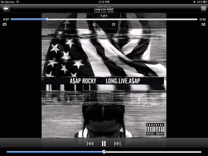 Listening To Long Live Asap