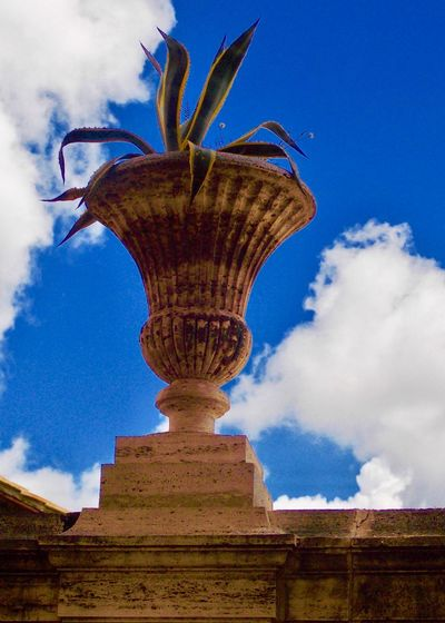Villa Albani 18th Century Aloe Vera Plant Antiquity Architecture Beauty In Nature Blue Building Exterior Built Structure Classic Art Clear Blue Sky Cloud - Sky Day Low Angle View Nature No People Outdoors Sky Stone Vessel Travel Destinations Villa Albani EyeEmNewHere