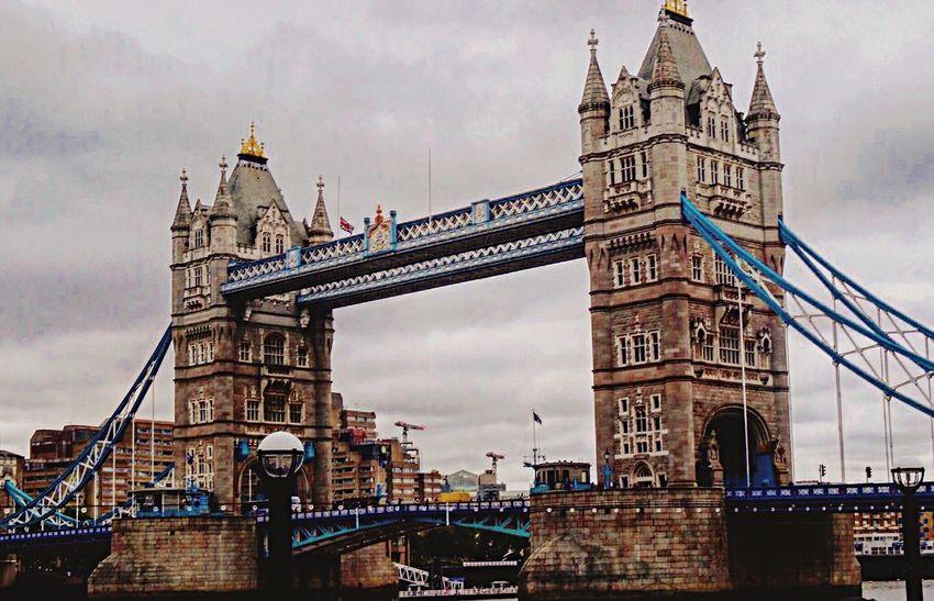 EyeEm Selects Architecture Built Structure Bridge London Londonlife Tourism Travel Tower River City