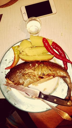 Food Porn Awards trout , Potatoes , Chili , Vodka , Vkusno , aerogrill,