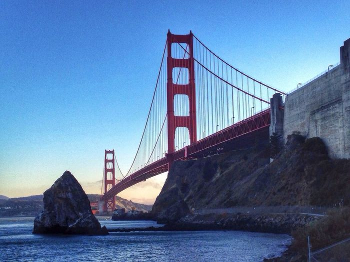 Dusk at the Golden Gate Bridge Cali Bridgeporn
