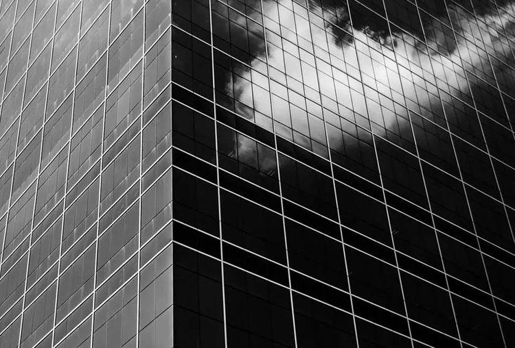 cloud in black Architecture Black & White