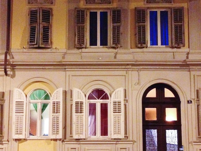Trieste IPSNight Window Italy