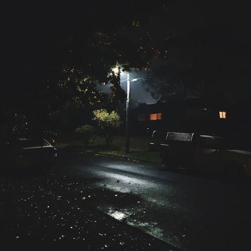 Night Nightphotography Streetlamp Ominous Dark And Light