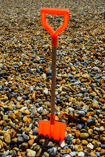 At The Beach Beach Beach Photography Close-up Colorful Colourful Day Large Group Of Objects Nature No People On The Beach Outdoors Pebble Pebble Beach Pebbles Red Red Spade