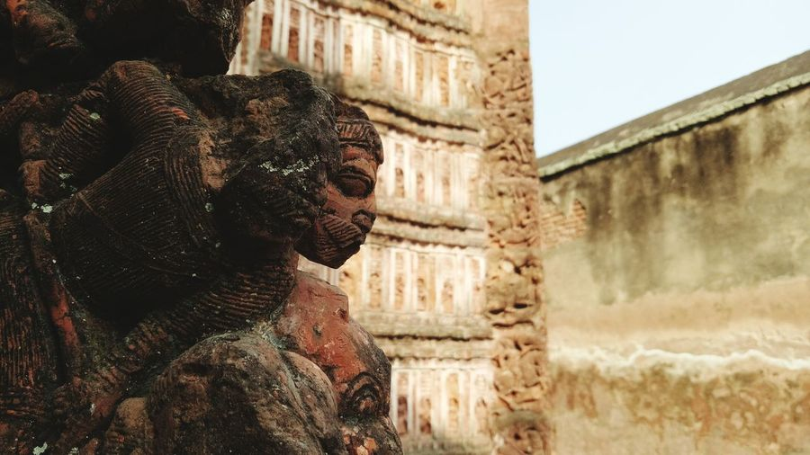face of history Sculpture Historical Building History Historical Rajbari Place Krishnachandra Historical Place Temple WestBengal EyeEm Selects Adult One Person One Man Only