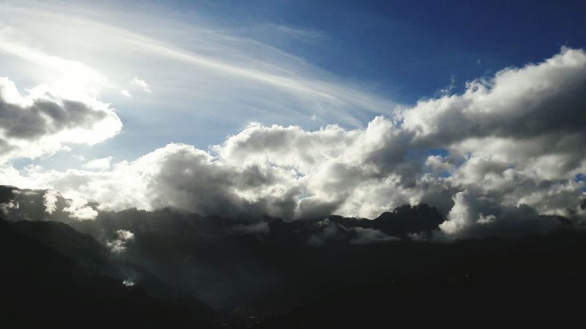 Clouds tsunami. Cloud - Sky Beauty In Nature Outdoors Sky No People Veneto Italy Italy Recoaro My Home Mountain View Mountains Dramatic Sky Cloudscape Nature Sky And Clouds Feeling Art Photography Landscape_photography Landscape_Collection Nature_collection