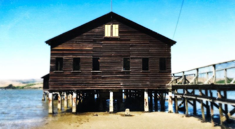 Water Built Structure Architecture No People Day Outdoors Sky Building Exterior Beach Nature Marin County CA Inverness, Calif Boat Launch Beautiful Day