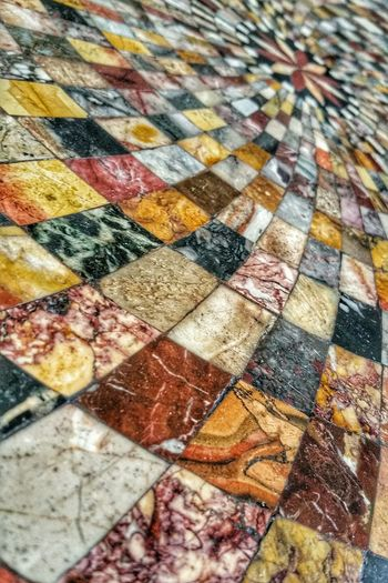 Napoli High Angle View Backgrounds Close-up No People Multi Colored Indoors  Day Full Frame Tourism Decoration Focus On Foreground Naples Palazzo Reale Di Napoli Italia Italy Travel Pattern Desk Tavolo Marmo Tavolino Fatto A Mano Handmade
