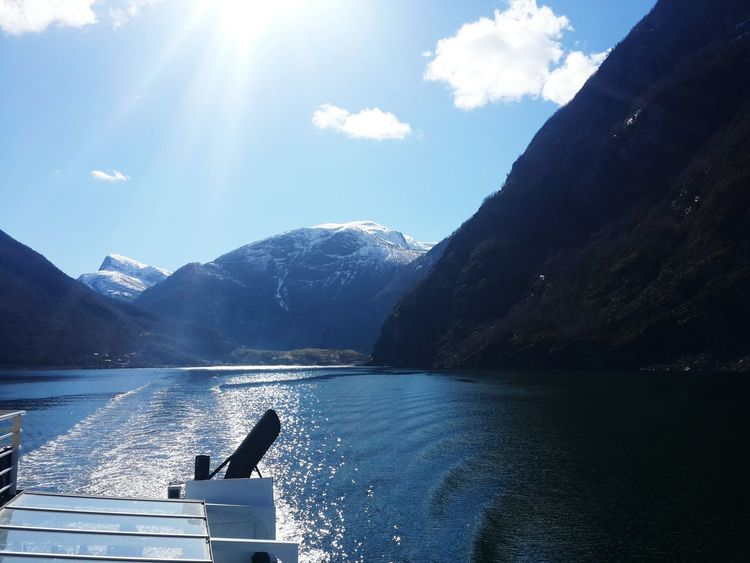 April2016 Day4 Norway Flåm Aurlandsfjord Fjords Fjordsofnorway In The Country Ship Gull
