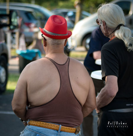 Adult Car Casual Clothing Day Focus On Foreground Incidental People Land Vehicle Lifestyles Men Outdoors People Rambo Real People Rear View Responsibility Senior Adult Standing Togetherness Transportation Women