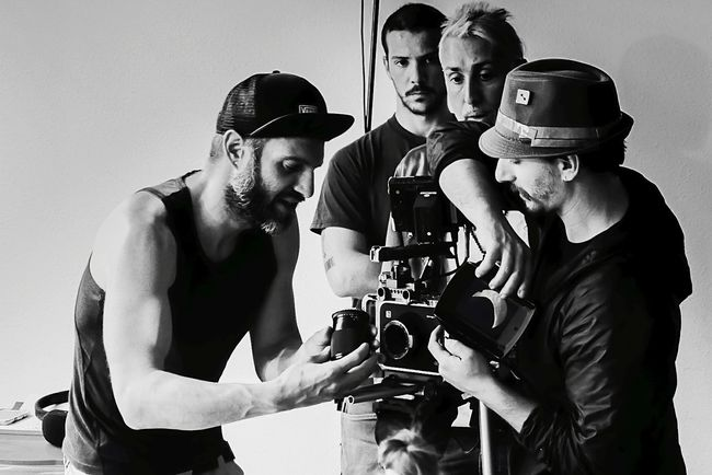 Short Film Director Director Of Photography Padova Backstage Arts Culture And Entertainment Cinema MOVIE B&w