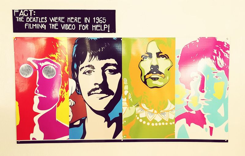 Beatles by the beach Beatles Music Lennon McCartney Starr Harrison Bahamas Painted Image Modern Art Paintings Poster Advertisement First Eyeem Photo