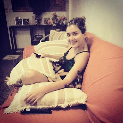 Porque hoje bateu uma saudade dela! ;~ MinhaKiKa CachorrinhaAnjinha ♡