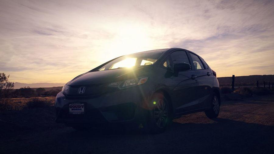 Honda Fit High Desert Sunshine Route 66 Adventure