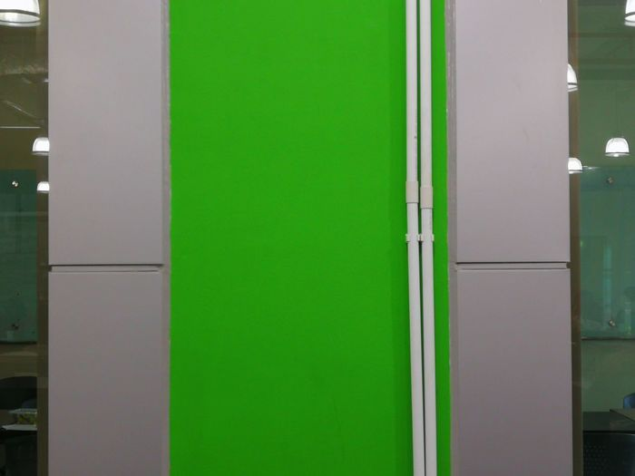 Green Color Door No People Built Structure Grass Multi Colored Backgrounds Architecture Outdoors Building Exterior Day Close-up