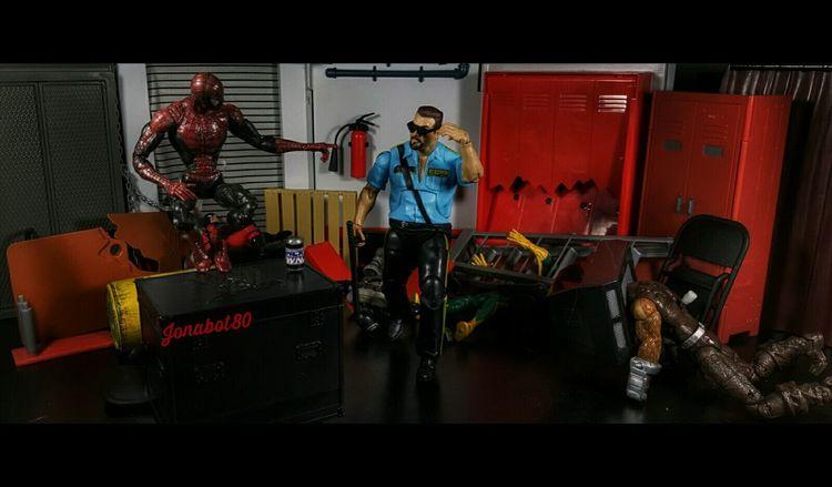 Big Boss Man: My work here is done. Spidey: You da Man Boss. MainEventPics Toyworldordercliq Wwe Wrestlemania Spiderman