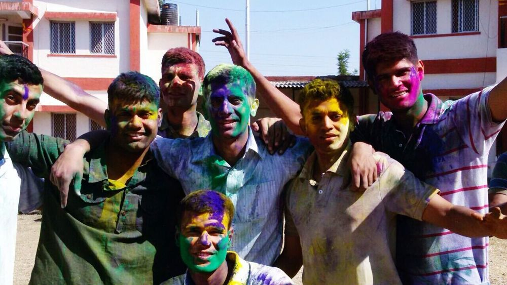 THESE Are My Friends colours that bind us. Frndsforever f Friendship Amazingppl IndianFestivals Holi