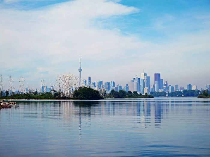 Hi, CN TOWER! Photo Of The Day Torontoat Tommy Thompson Park