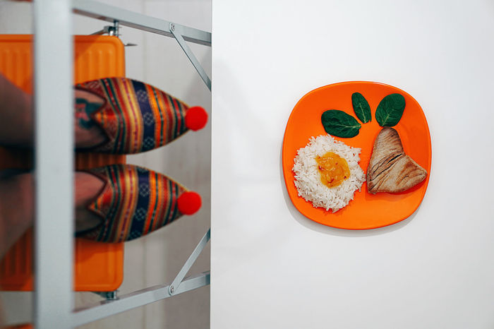 Somebody cooked today. Ricewithadropofmangojamtunaandspinach Food And Drink Healthy Eating Indoors  Freshness Arrangement Food Food And Drink Foodphotography Feet Feetselfie Abstract Colors Colorful Colours Orange Ladder Climbing Home Home Sweet Home Tuna Plate Dish Women Around The World EyeEm Diversity Fresh on Market 2017 Visual Feast Rethink Things Perspectives On People Food Stories Creative Space