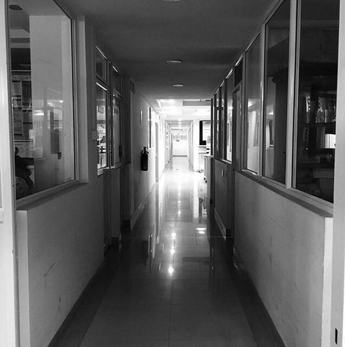 Hospital No People