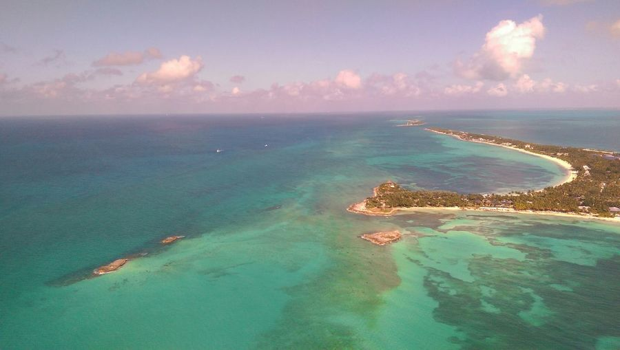 Cat Cay, Bahamas from overhead in Whale Force One FlyTheWhale Bahamas VisitBahamas My Smartphone Life Htconem8 Aerialphotography The Bahamas Beach Photography Sunset #sun #clouds #skylovers #sky #nature #beautifulinnature #naturalbeauty #photography #landscape