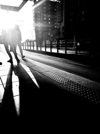 Day Lifestyles Outdoors People Real People Shadow Standing Sunlight Two People Waiting The Street Photographer - 2017 EyeEm Awards HuaweiP9 HuaweiP9Photography