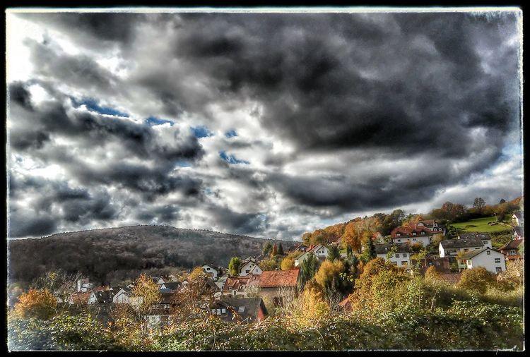 Blick auf Eisenbach von Obernburg Herbst In Seinen Schönsten Farben Landschaft *~*