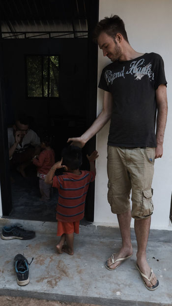 lyli school cambodia Big And Small Teacher And Child Volunteering