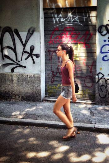 The Street Photographer - 2015 EyeEm Awards Streetphotography Walking Around The City  City Art Sunday Morning Walk Light And Shadow