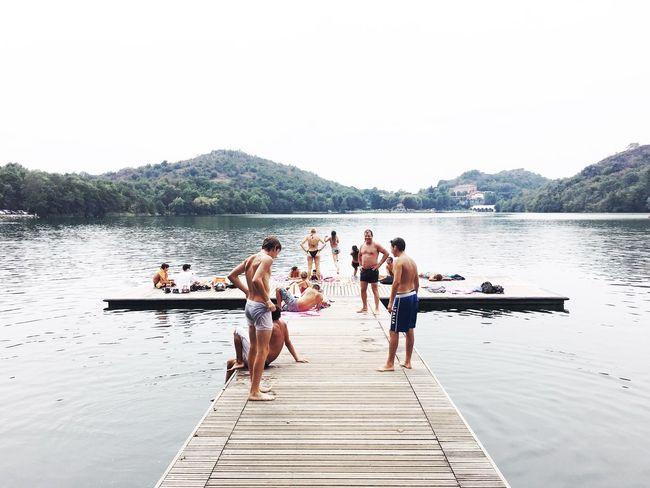 Lago Sirio - Ivrea Bagno Lago amici Domenica
