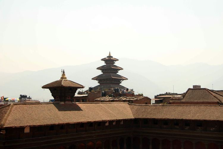 Bhaktapur durbar square view before EarthquakeNepal Hanging Out and Taking Pictures @ Bhaktapur Durbar Square Pagoda UNESCO World Heritage Site Nepal #travel