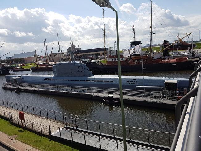 Bremerhaven Uboot Schifffahrtsmuseum Submarine Taking Photos Hanging Out Enjoying Life