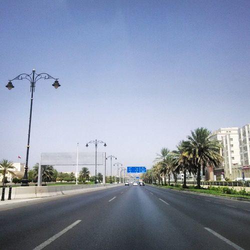 Highway scenes @ afternoon! Mi Photography Xiaomi Redmi1s Muscat Roads Trees Sky Noon Datetrees Streetlamps Click Instag Instagood Instadaily Instagram Nofilter Nofilterneeded Noedit Noeditnecessary @xiaomiclick_id @instagram @amazing_longexpo