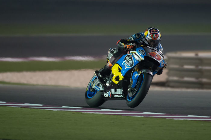 MotoGP riders during the final preseason test before the start of the 2016 MotoGP season Losail LosailCircuit Motogp MotoGP2016 Motorcycle Motorsports Preseason Qatar Race Racing Test TitoRabat