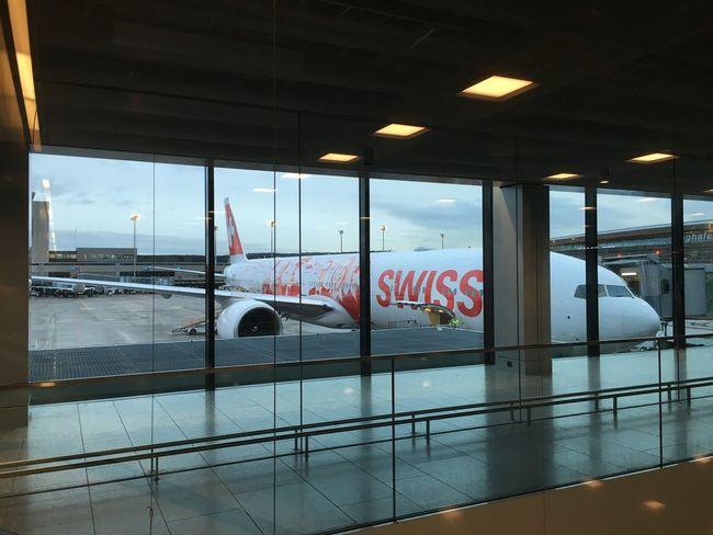 Airport Waiting Boeing 777 Kloten Flyswiss Swissgirl Switzerland EyeEm Best Shots