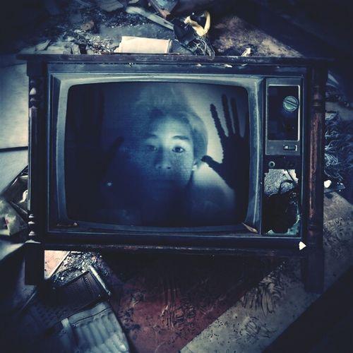 Trap in a TV