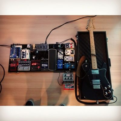 Today recording rig for WeepingPillow new single.