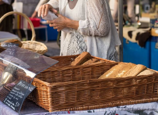 Close-up Focus On Foreground Retail  Brown Shop Large Group Of Objects Outdoors France French Market Bread French Bread Travel Canonphotography Small Business Heroes