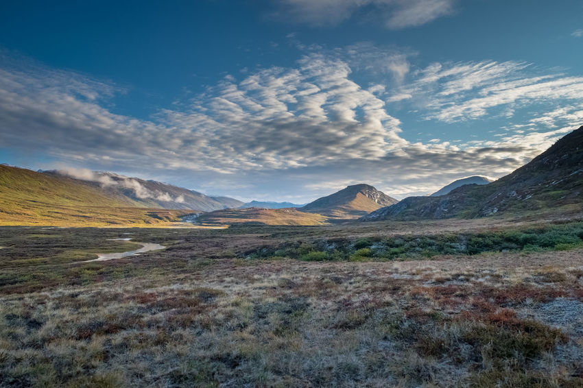 Greenland Arctic Arctic Circle Arctic Circle Trail Autumn Beauty In Nature Cloud - Sky Clouds And Sky Day Landscape Mountain Mountain Range Nature No People Outdoors Scenics Sky Travel Destinations Tundra Wilderness Lost In The Landscape Perspectives On Nature