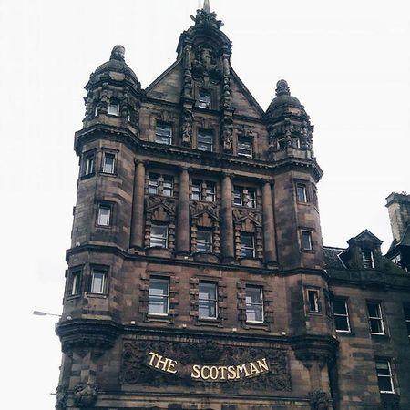 Trowbackthursday TBT  to Edimburgh and the Scotsman. IgersEdinburgh Igersscot IgersScotland Insta_Scotland Instascotland Vscocam VSCO Vscotland VisitScotland Explorescotland Instagood Latergram Ig_Scotland