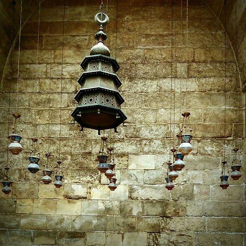 Islamic Cairo , El Mo'ez street , Old Mosque Islamic Architecture