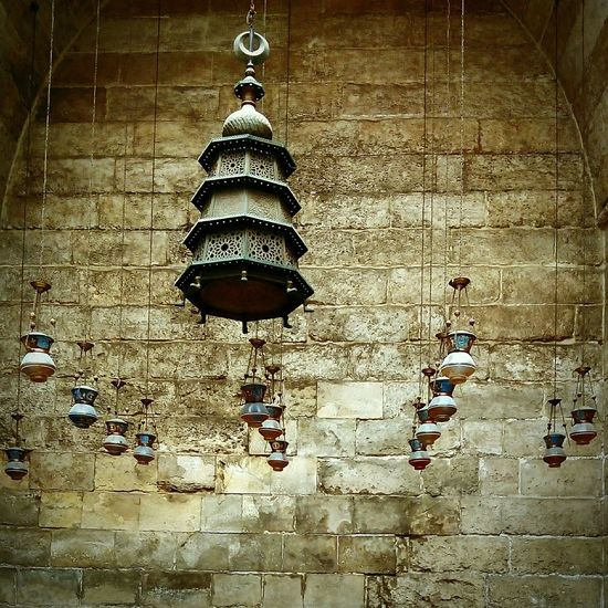 Islamic Cairo , El Mo'ez street , Old Mosque Islamic Architecture