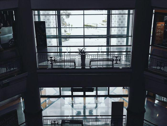 View of glass window