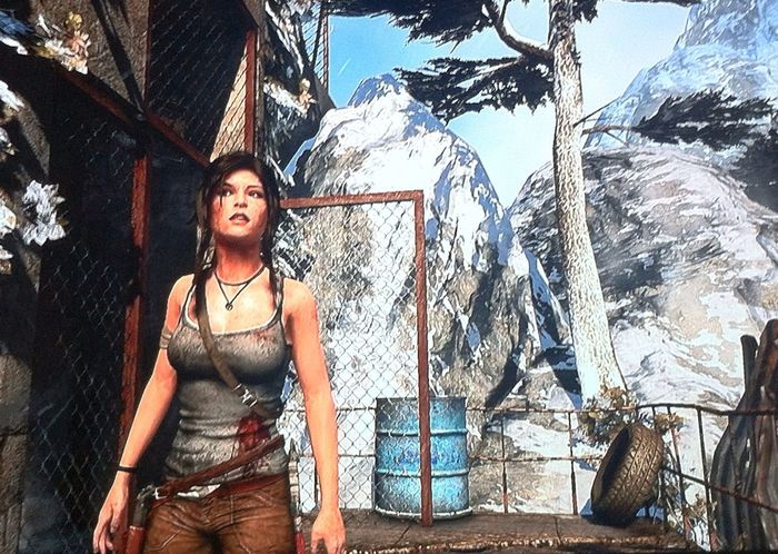 Bom demais! Playstation4 Tombraider