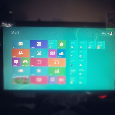 yay! win 8 preview installed!