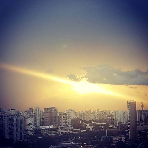 Depois da Tempestade há a Calmaria - Saopaulo SP Sun City Sunny Day Greatday