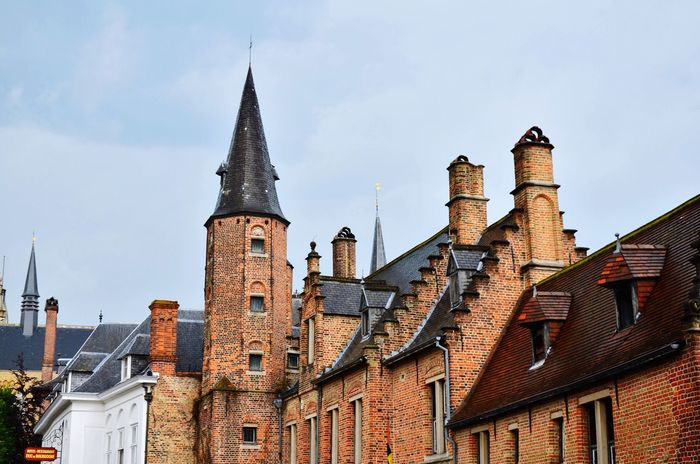Architecture Building Exterior Built Structure Church Cloudy Day Culture Historic History Old Old Building  Outdoors Red Brick Roof