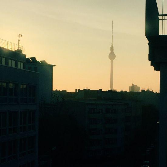 Berlin Sunrise Walking Around VSCO Vscocam Sunrise Silhouette Discover Berlin